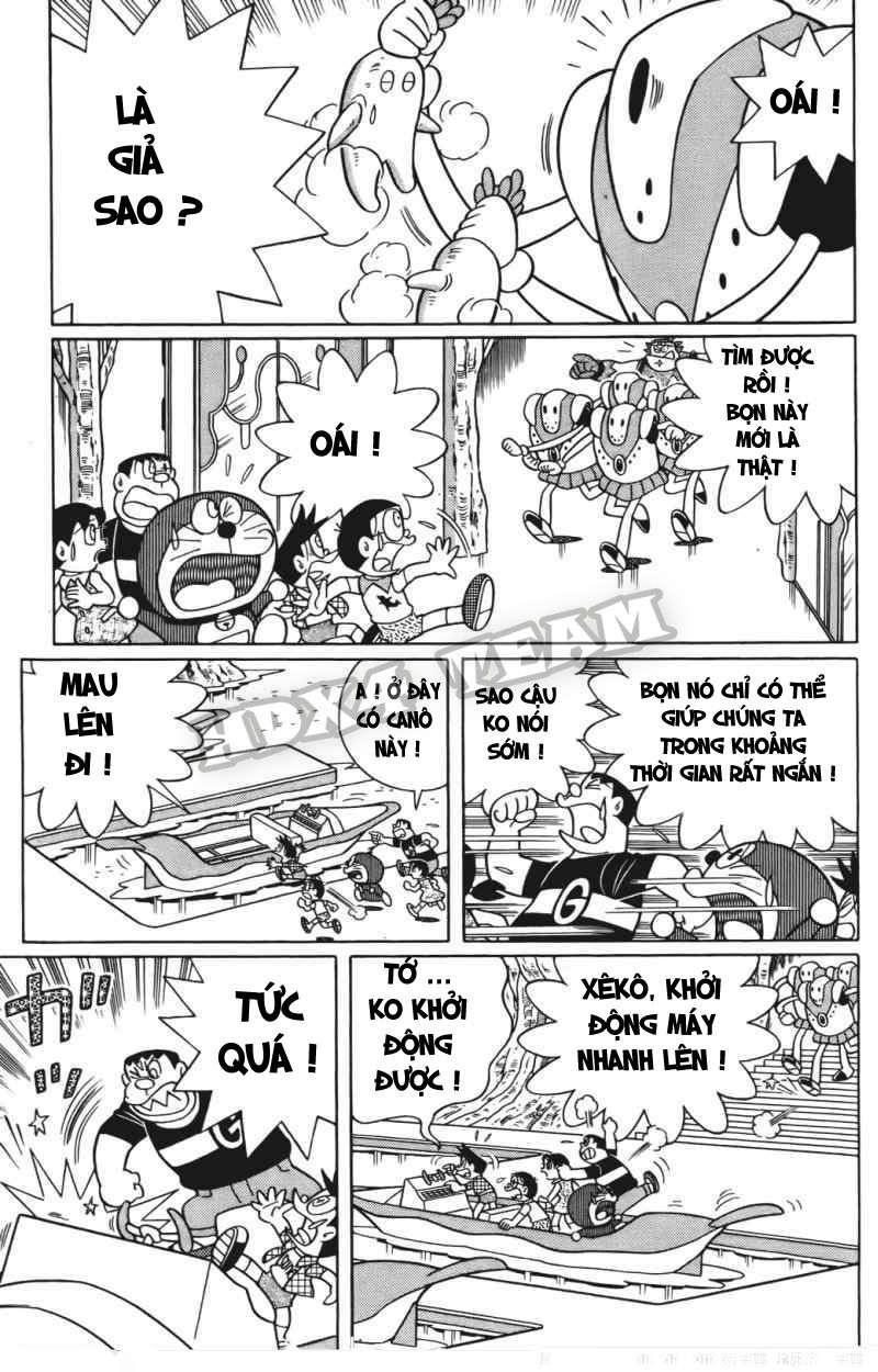 Truyện tranh Doraemon Dài Tập 25 - Nobita và truyền thuyết thần rừng trang 106