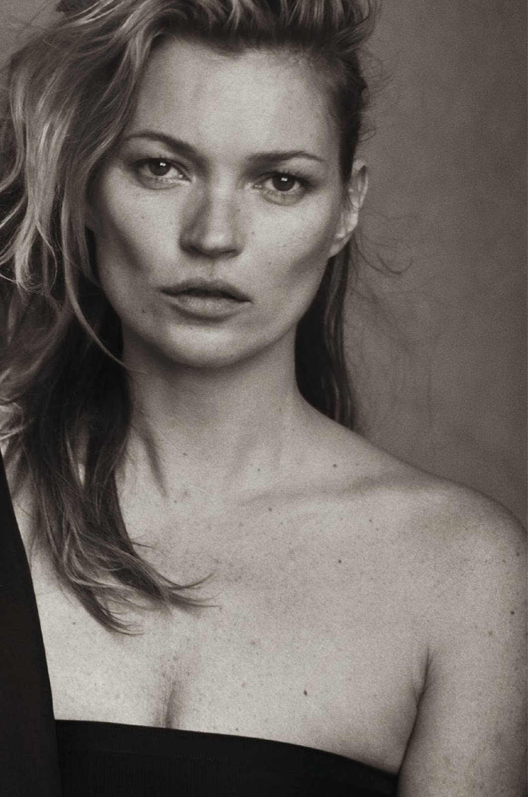 Kate Moss By Peter Lindbergh For Vogue Italia January 2015