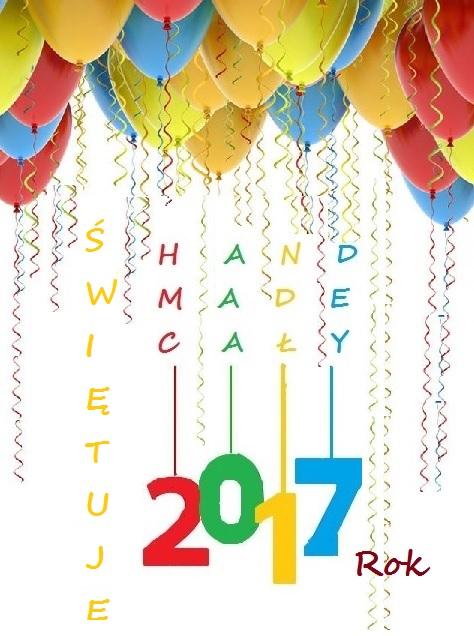 Brałam udział w Hand Made Świętuje cały 2017 r.