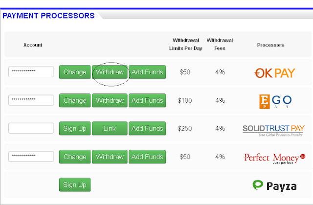 Cara Withdraw - Penarikan Dana di Adclickxpress