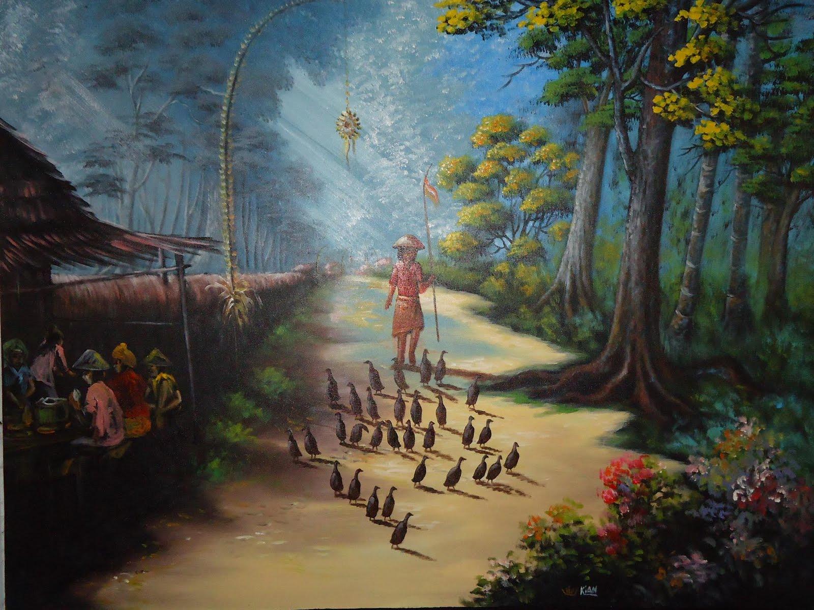 Lukisan Kampung