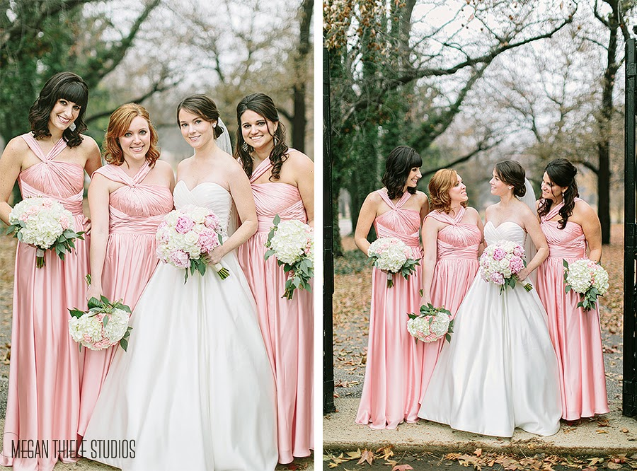 Blush Pink & Ivory Wedding & Reception at the Westin | Sisters ...