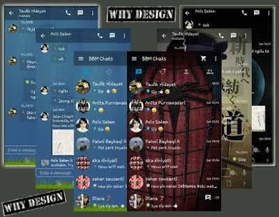 BBM GoRankPathTooth APK Terbaru (Transparent & Change Background)