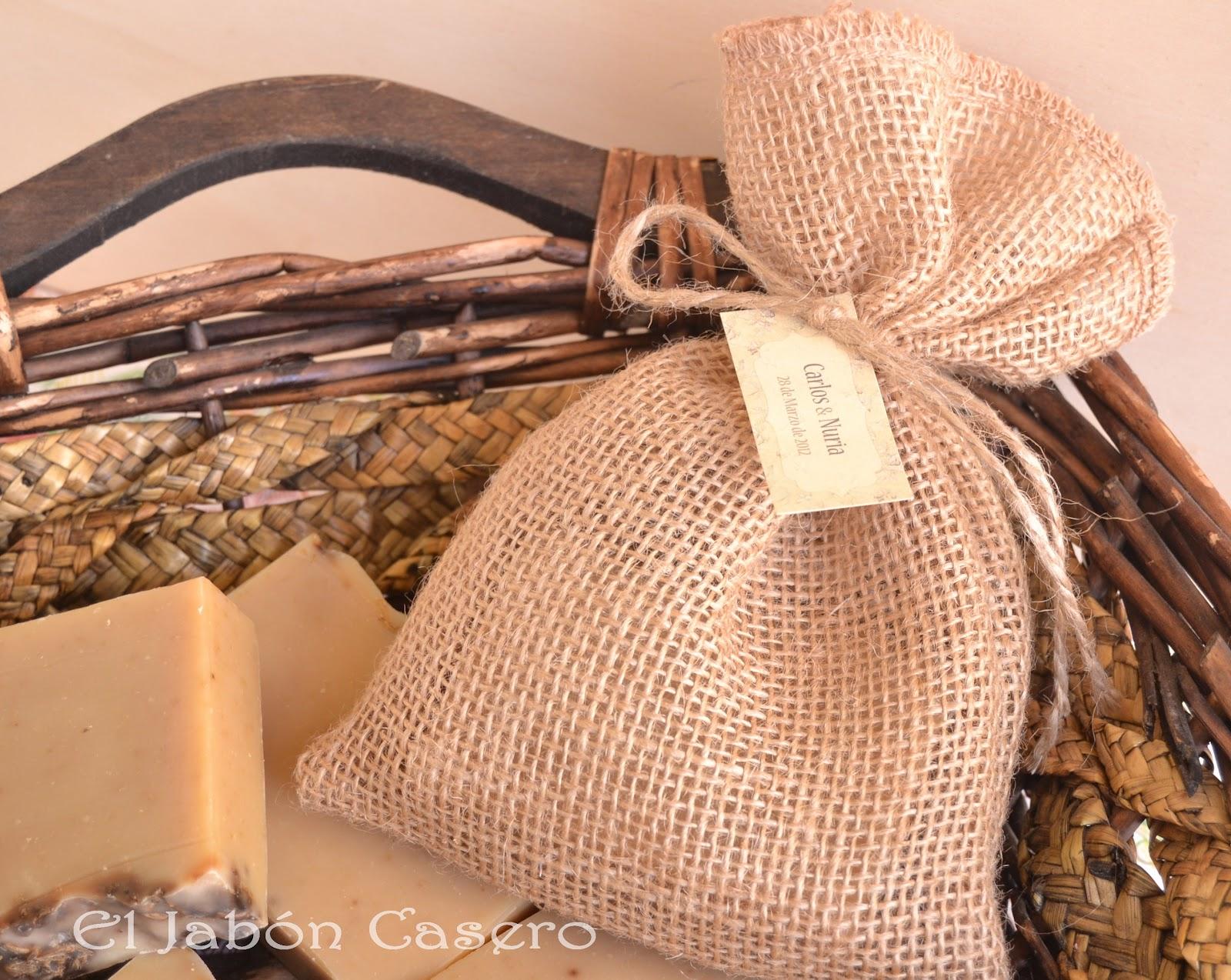 El jab n casero bolsitas de tela con jabones detalles - Saquitos de tela ...