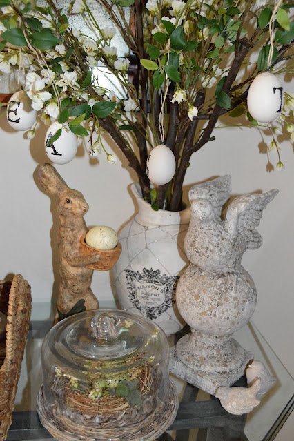 Friendship life and style spring tablescape and decor for Home goods easter decorations