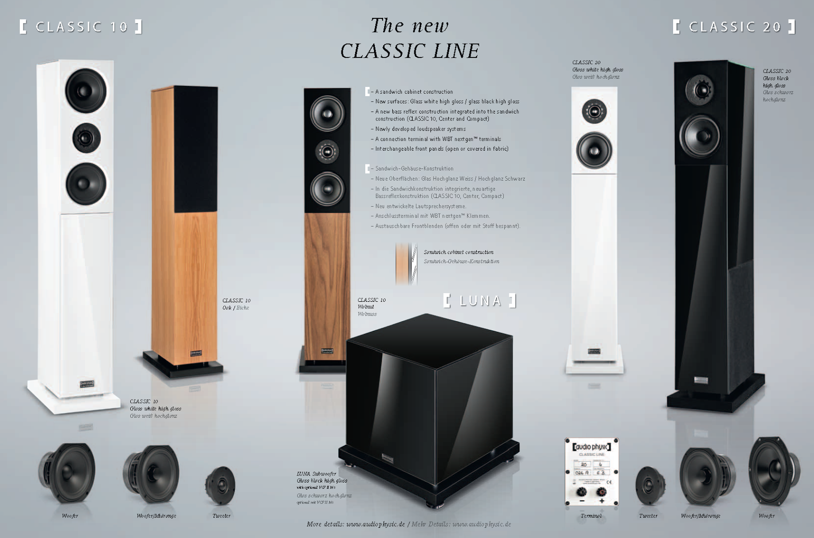 Audio Physic Classic series