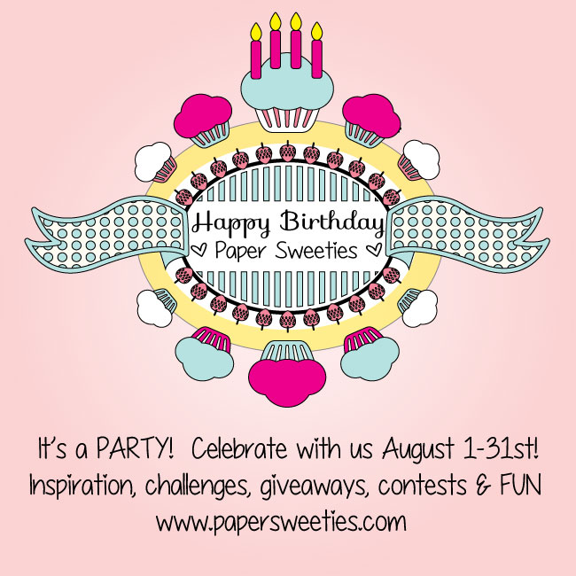 Paper Sweeties Is Turning 4!