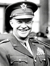 "General DWIGHT DAVID ""IKE"" EISENHOWER (EEUU 14/10/1890 – Washington D.C. 28/03/1969)."