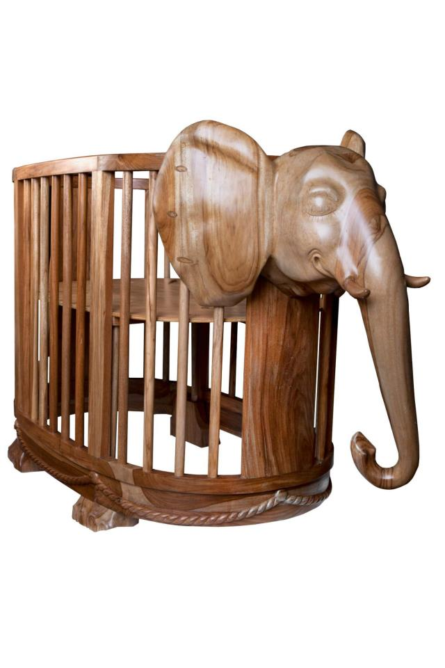Elegant Anaiza Has Created The Ultimate Safari Themed Nursery Furniture. The  Valentina Crib Actually Features An Elephant Head. And It Transforms Into A  Little Sofa ...