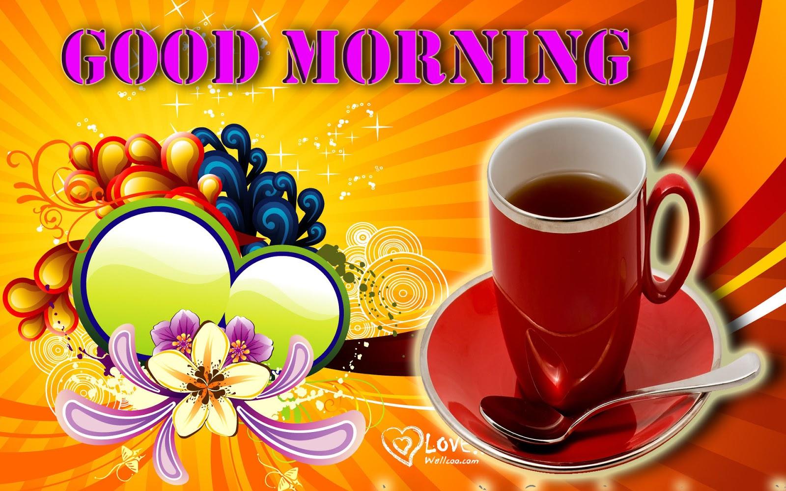 Happy Good Morning HD Wallpaper Free