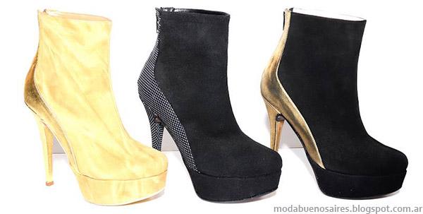 Roberto Piazza zapatos y botas de fiesta 2014. Moda invierno 2014.