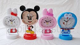 Jam Meja Cartoon Character