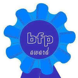 """Premio """"bfp award"""" concedido por Decogalletas y Sweetcaroline"""