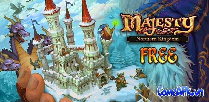 Majesty: Northern Kingdom v1.0.1 hack full tinh thể cho Android