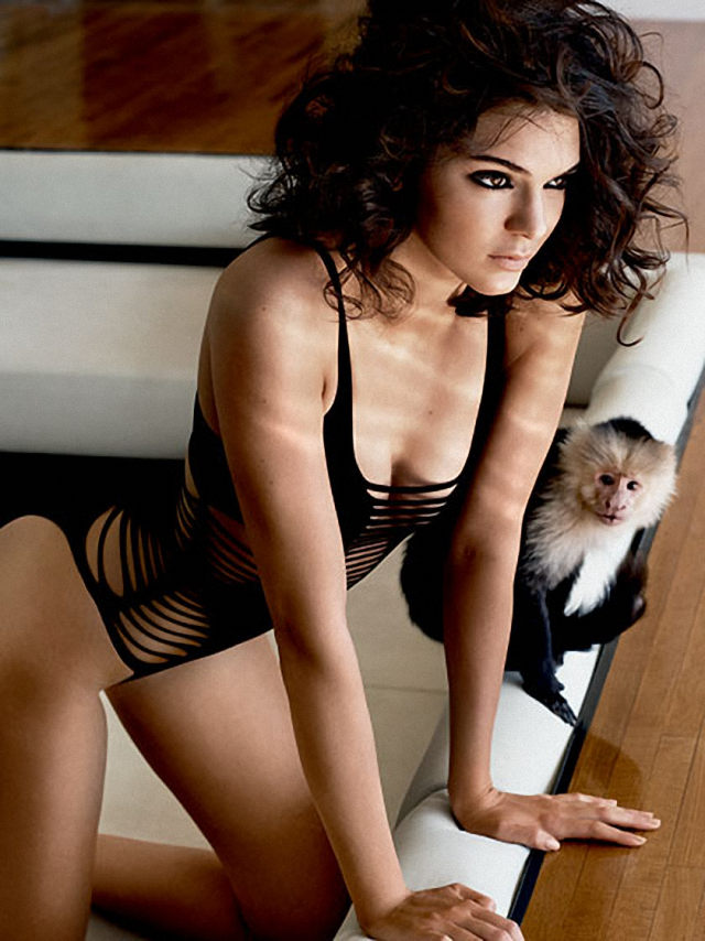 Fotos de Kendall Jenner en Allure Magazine