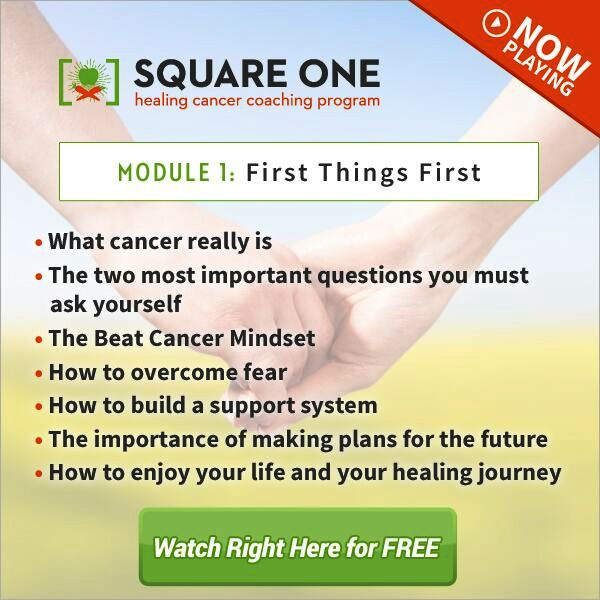 Square-One Healing Cancer Series- FREE