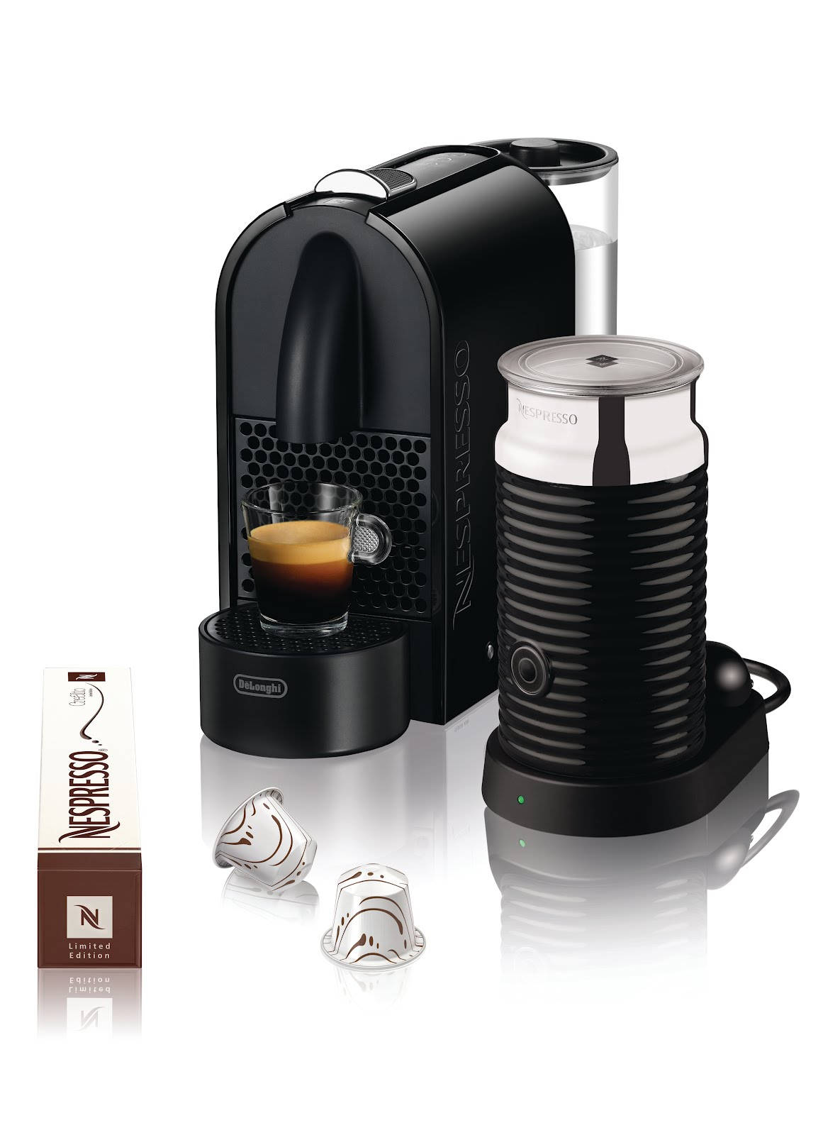 Electronic Real Coffee Machine i eat therefore am giveaway nespresso u coffee machine and so congratulations jay you are the winner of a new crealto coffeepack