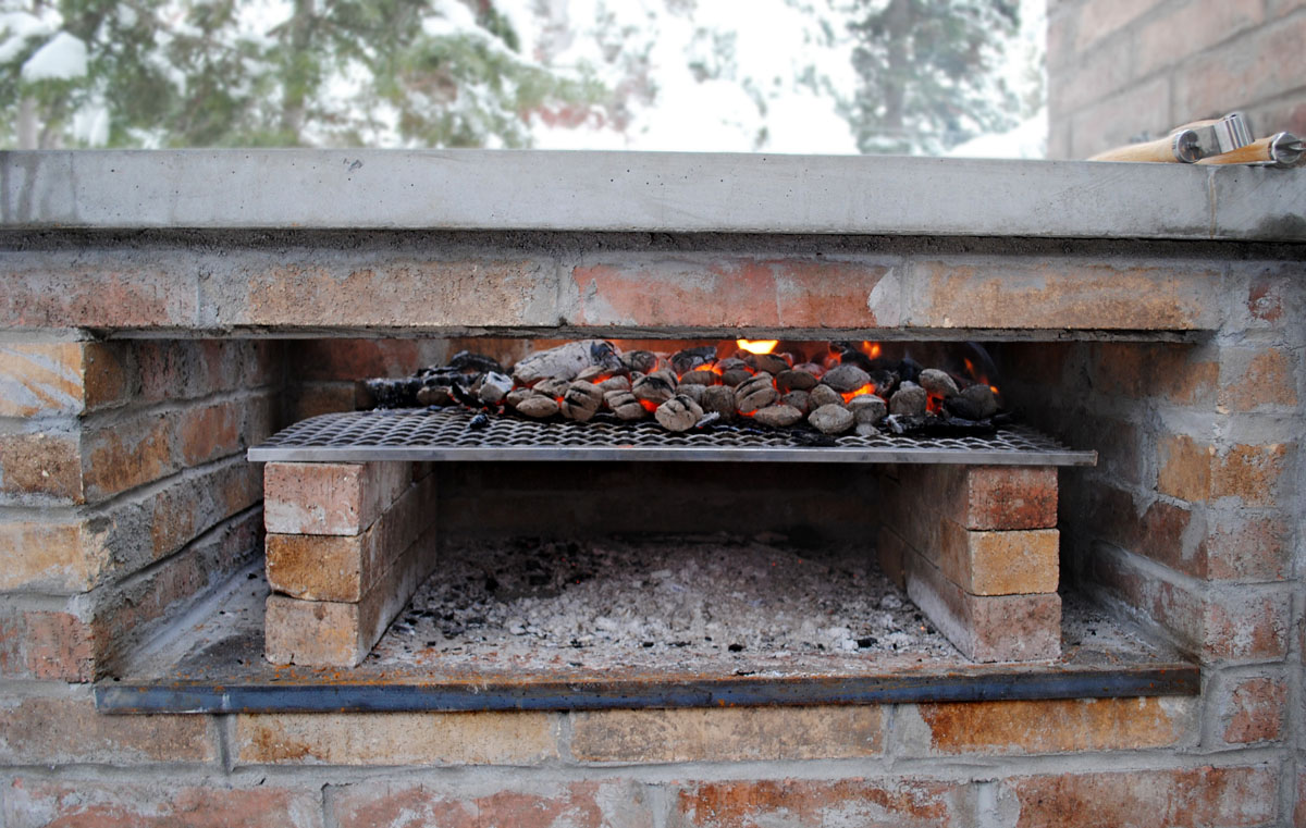 brick laminate picture brick grill and smoker