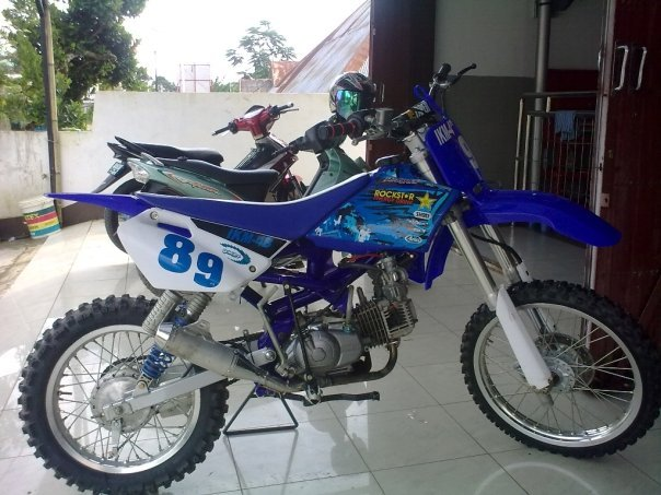 SUZUKI TORNADO GS SUPERMOTO TRAIL MODIFICATIONS