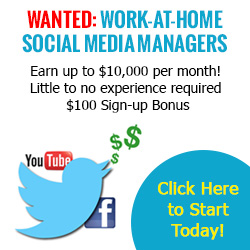 Social Media Managers Wanted