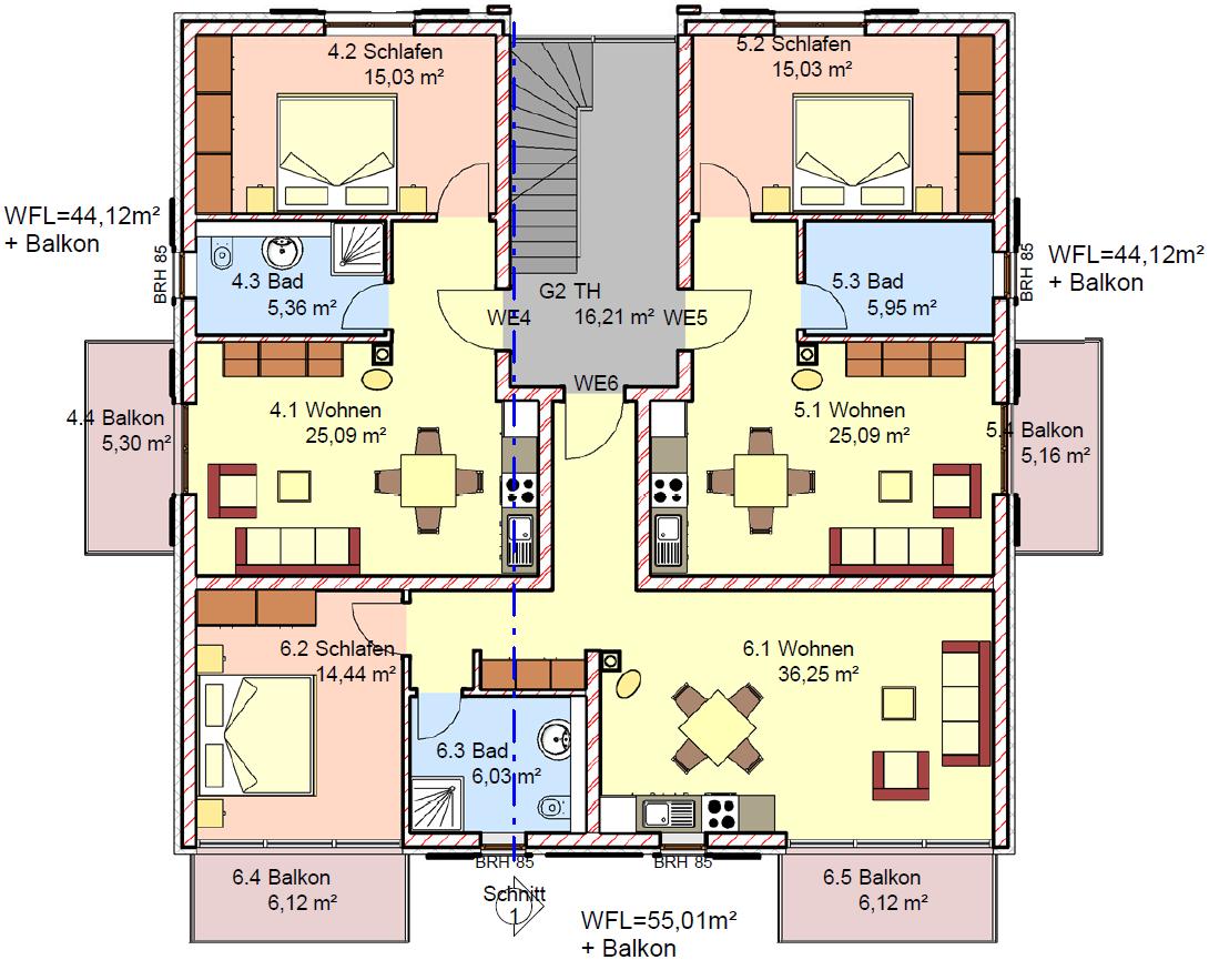 Immobilien luxus villa grundriss  Ferienwohnung in Dierhagen - Käptn Braß ImmoCap