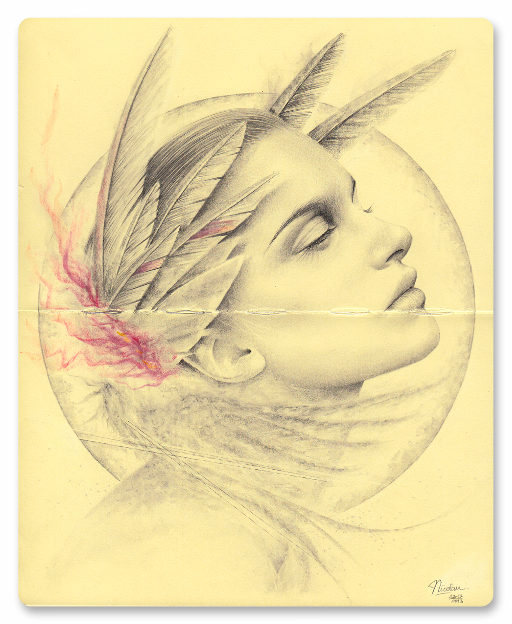 nuncalosabre. Dibujos | Drawings - ©Nicolaus Ferry