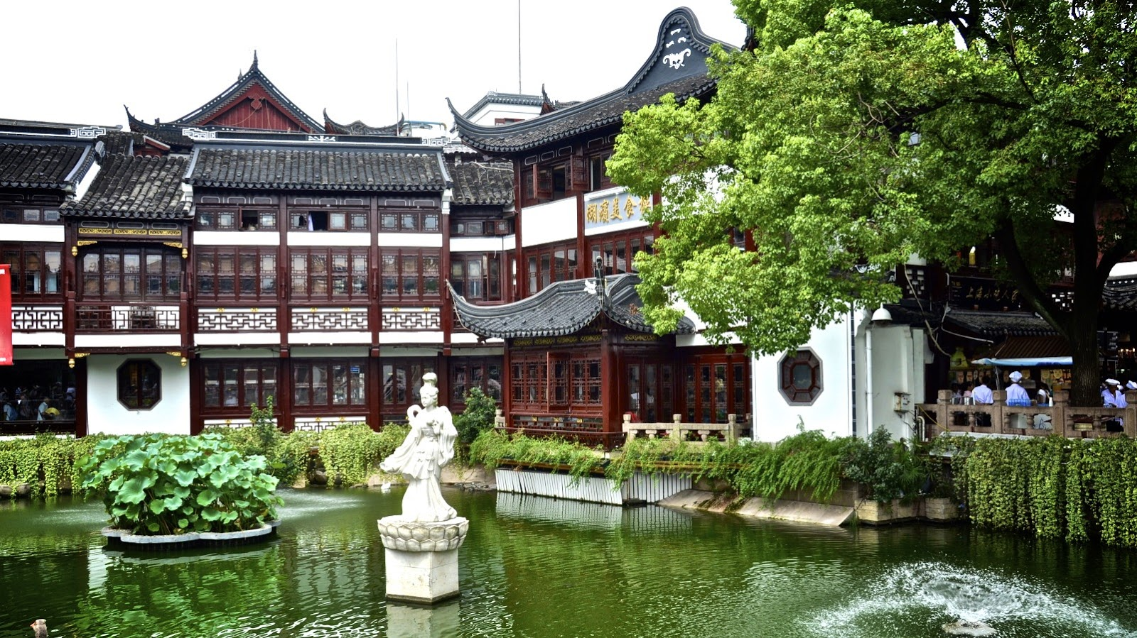 Yuyuan los jardines m s tradicionales de shanghai el for Jardin yu shanghai