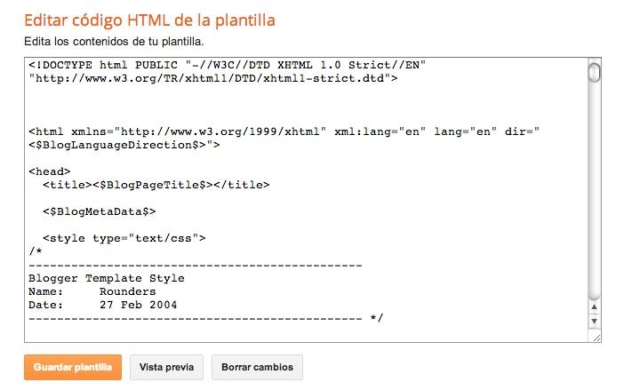 Plantillas clásicas y Blogskins - HTML Para Torpes