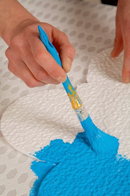 Manualidades - Pintura acrilica pared ...