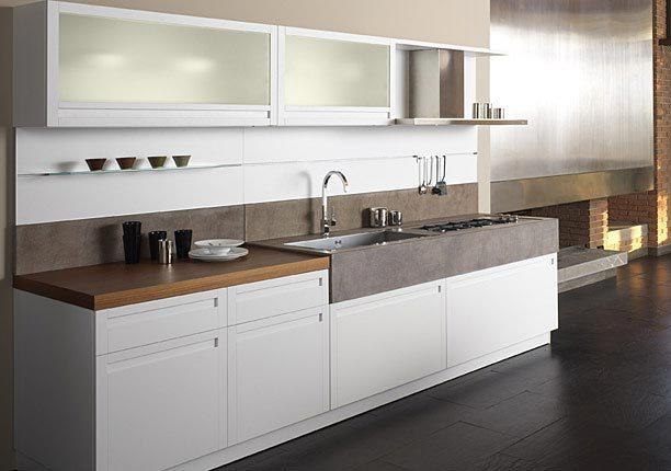 Cocinas lineales para todos los gustos cocinas con estilo for Cocina 4 metros