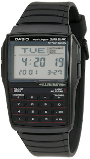 80's fad Casio calculator watch for men