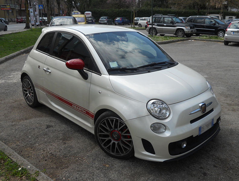 The Fiat 500 Abarth - A zinger with a stinger ~ Italian Cars