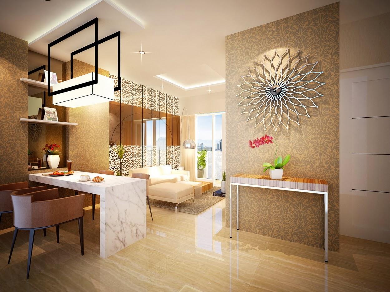 Type 2 BR (50 m2), Apartmen Puri Orchard