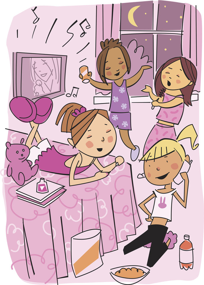 Sleepover Clipart | Clipart Panda - Free Clipart Images