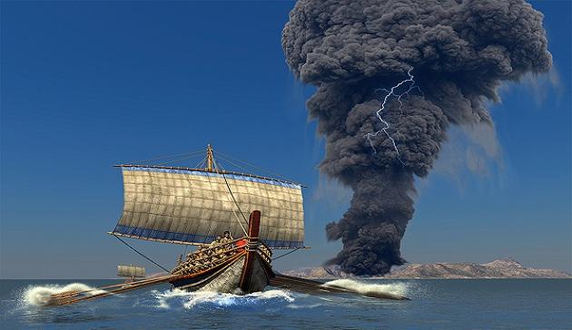 Είχαν πυρηνικά στην αρχαία Σαντορίνη και Κρήτη;