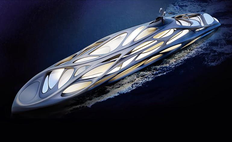 design zaha hadid design jazz superyacht for blohm voss. Black Bedroom Furniture Sets. Home Design Ideas