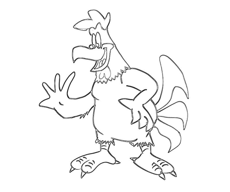 foghorn coloring pages - photo#9
