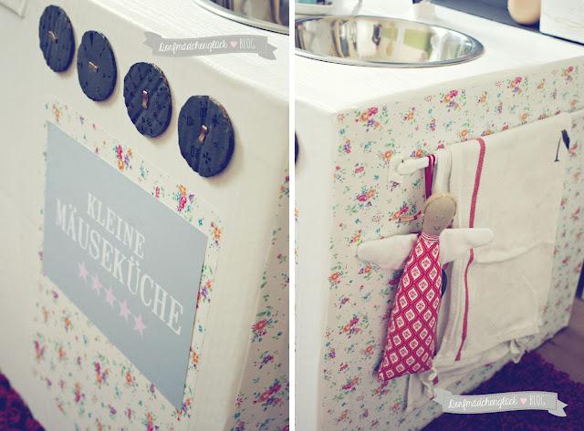 dorfm dchengl ck diy kinderk che aus kartons. Black Bedroom Furniture Sets. Home Design Ideas