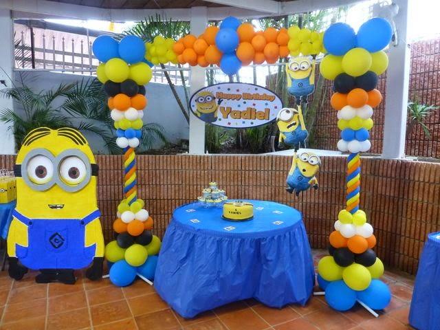 Minions decoracion para fiestas for Decoracion fiesta infantil nina