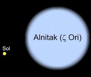 Alnitak - Uma das Três Marias