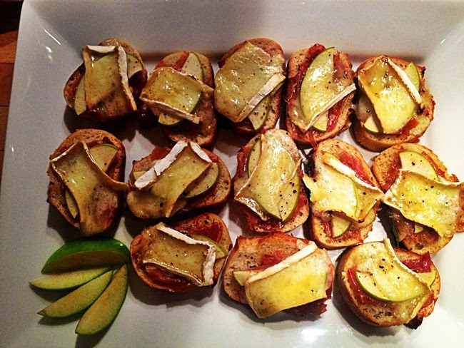 Served Sonni Side Up: Prosciutto Brie with Honey Apple ...
