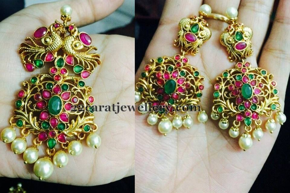 Beautiful 3 Gram Gold Earrings Designs with Price | Jewellry\'s Website
