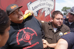 Solidarity at White Clay: Photos Oglala President arrested by Nebraska at protest