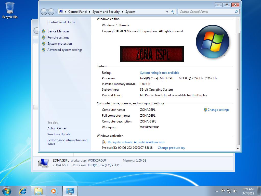 Download Driver Windows 7 Professional 32 Bit