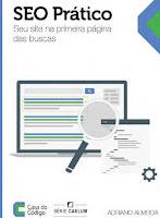 Capa do livro SEO Prático - seu site na primeira página de busca