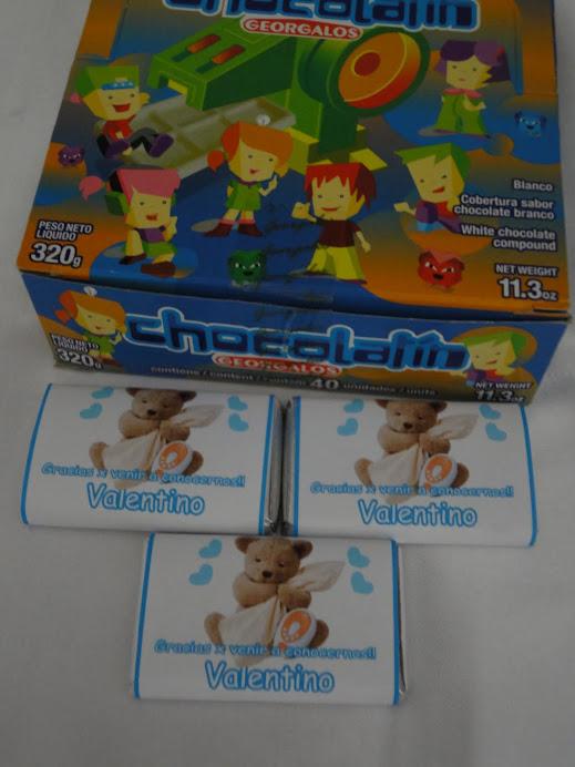 chocolates nacimiento personalizados lanus