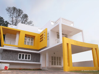 contemporary Home From kerala