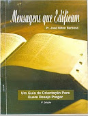 Um livro que vai edificar sua vida. Adquira já o seu! De: R$20,00 Por R$13,00- Ligue:(77) 9163 2393