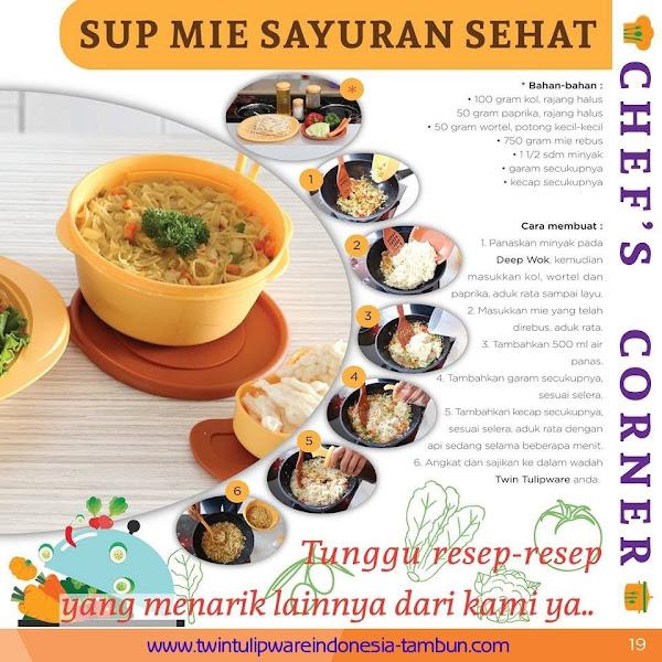Chef's Corner : Resep Sup Mie Sayuran Sehat