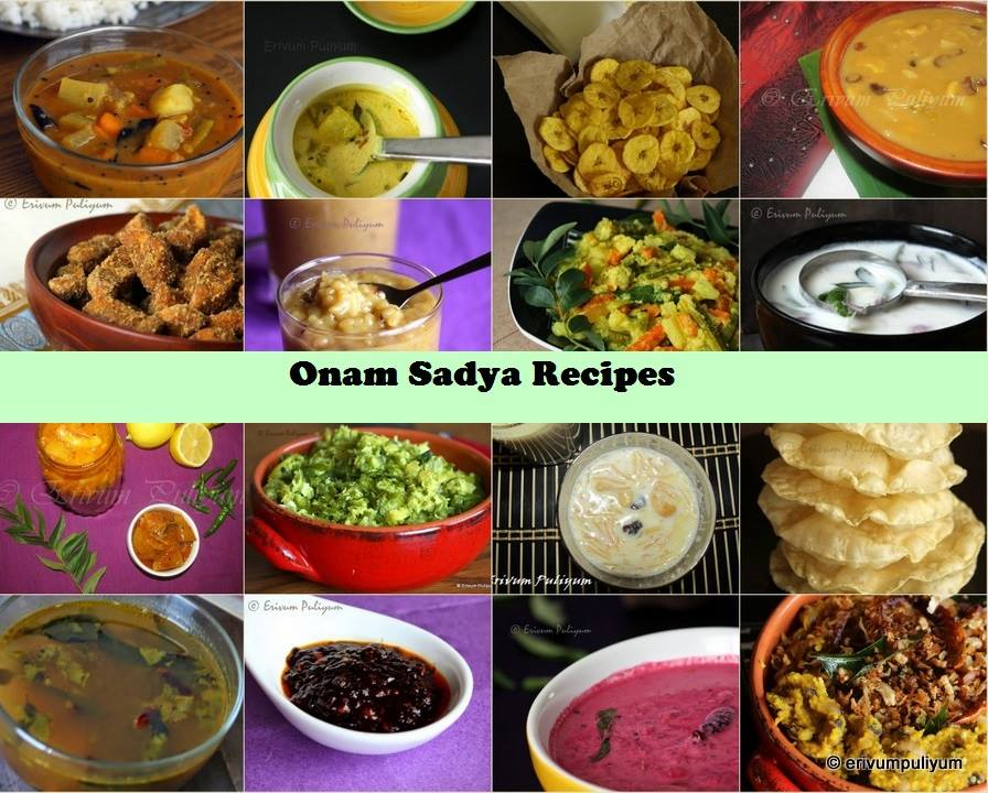 Check out Onam Sadya Dishes